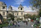 La Paz – Plaza Murillo s katedrálou