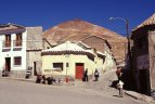 Potosí, v pozadí hora Cerro Rico