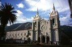 Městečko Baňos – katedrála